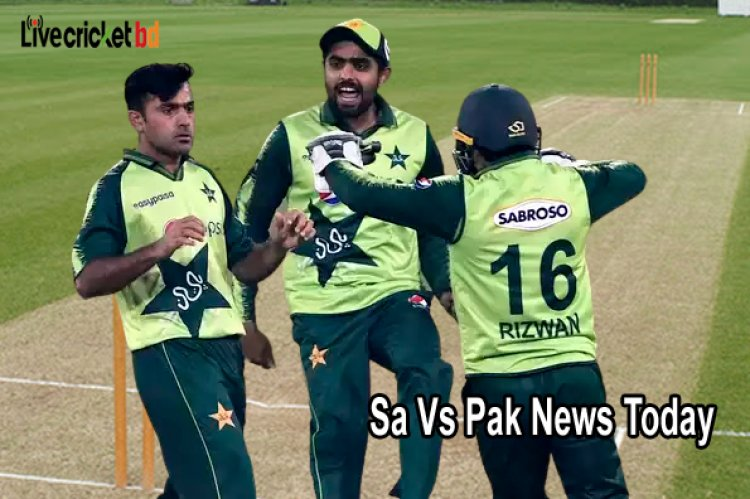 South Africa tour of Pakistan, Pakistan beat South Africa by 4 wickets