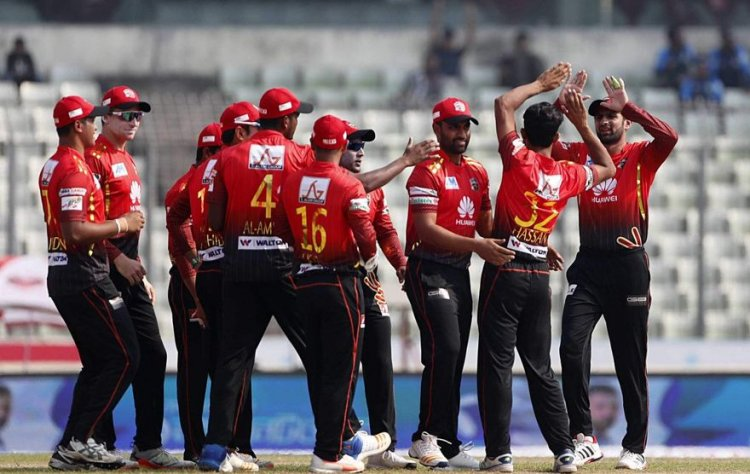 Bangladesh Premier League, 2019 Comilla Victorians beat Sylhet Sixers by 4 wickets