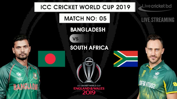 Icc cricket world cup  bangladesh versus south africa