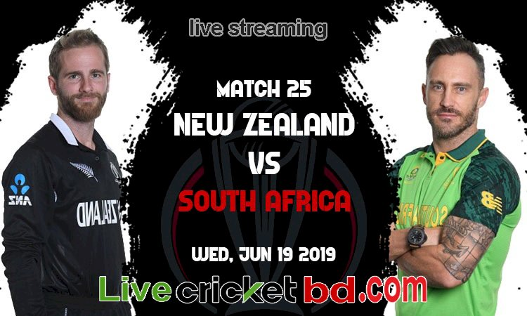 New Zealand vs South Africa | Match 25 | ICC