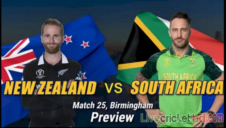 New Zealand Vs South Africa, Live Cricket Streaming
